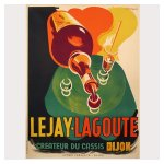 posters vintage, original vintage posters, poster ancien, posters anciens, poster art deco, affiches cassis,